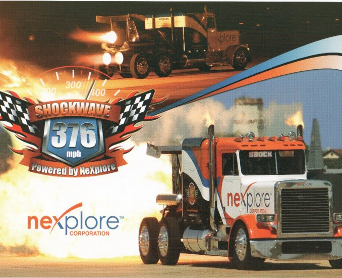 2007 Jet Truck Handout Les Shockley Shockwave