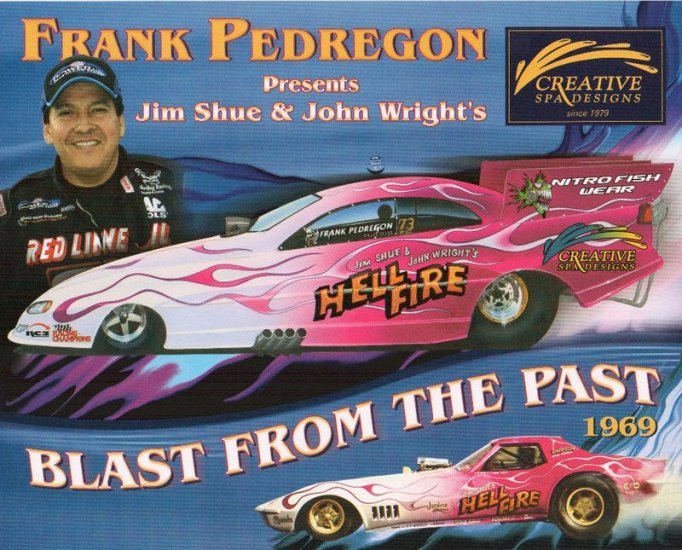2005 NHRA FC Handout Frank Pedregon Blast From the Past