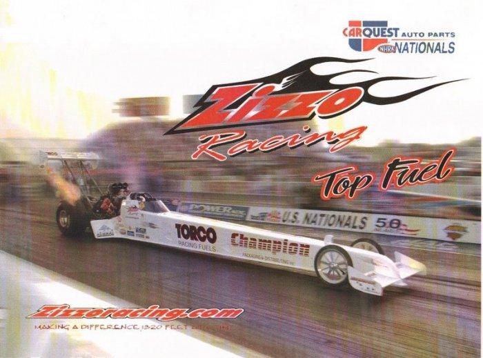 2005 NHRA TF Handout T.J. Zizzo (version #4)