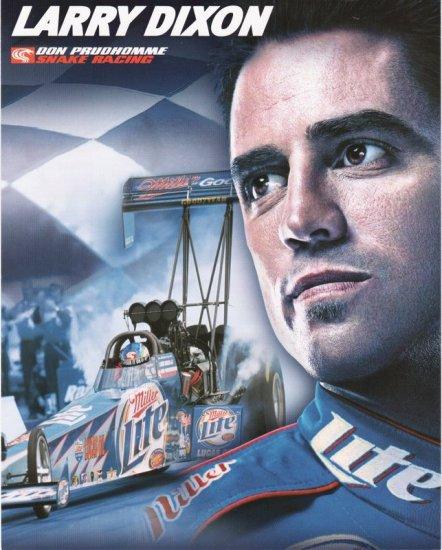 2005 NHRA TF Handout Larry Dixon
