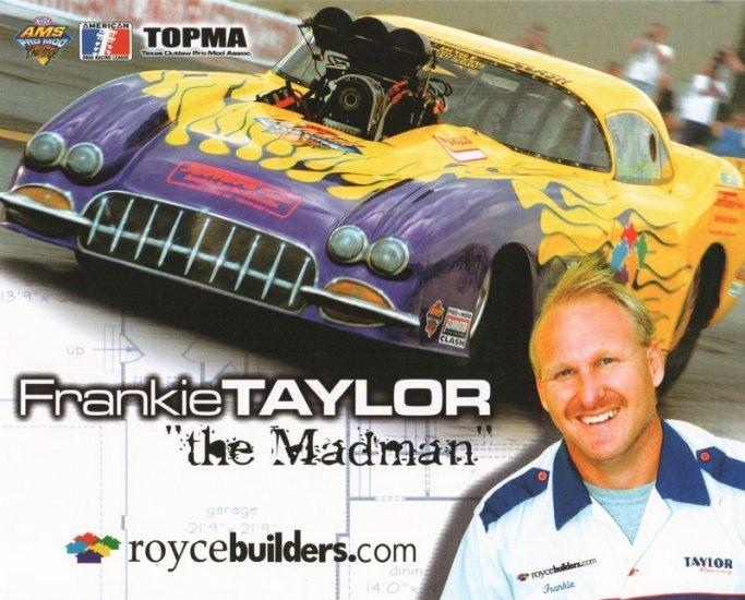 2005 NHRA PM Handout Frankie Taylor