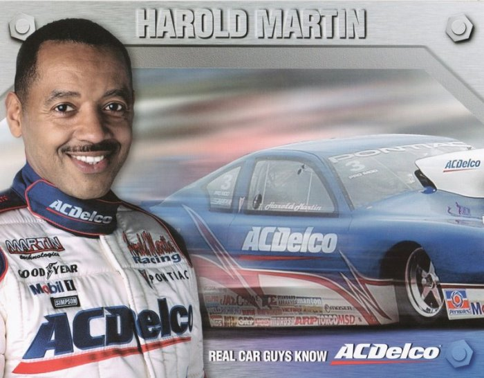2005 NHRA PM Handout Harold Martin