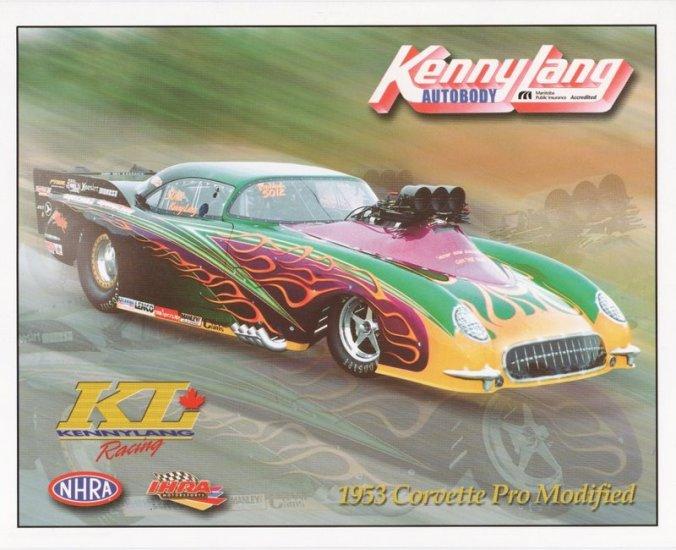 2005 NHRA  PM Handout Kenny Lang