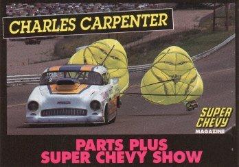 2005 NHRA PM Handout Charles Carpenter (BB Card)