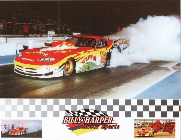 2005 NHRA  PM Handout Billy Harper