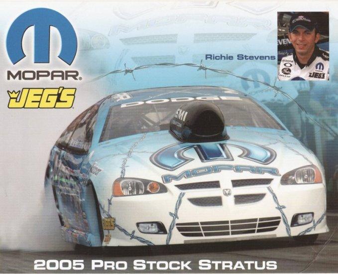 2005 NHRA PS Handout Richie Stevens (version #1)
