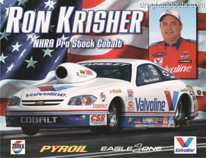 2005 NHRA PS Handout Ron Krisher