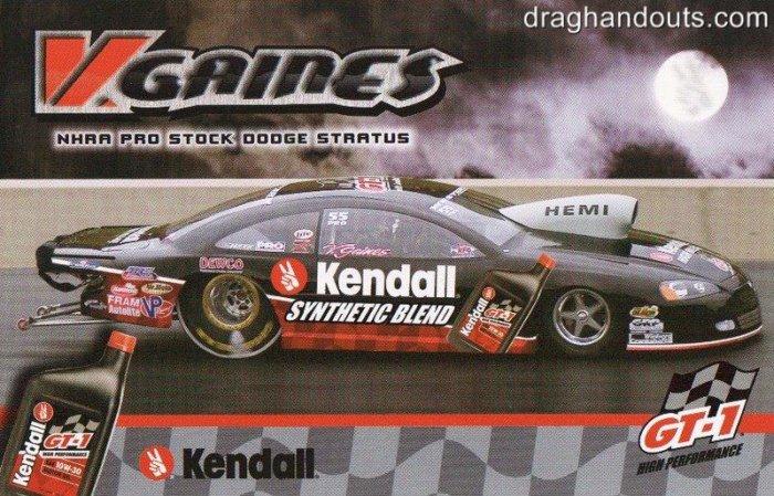 2005 NHRA PS Handout V. Gaines