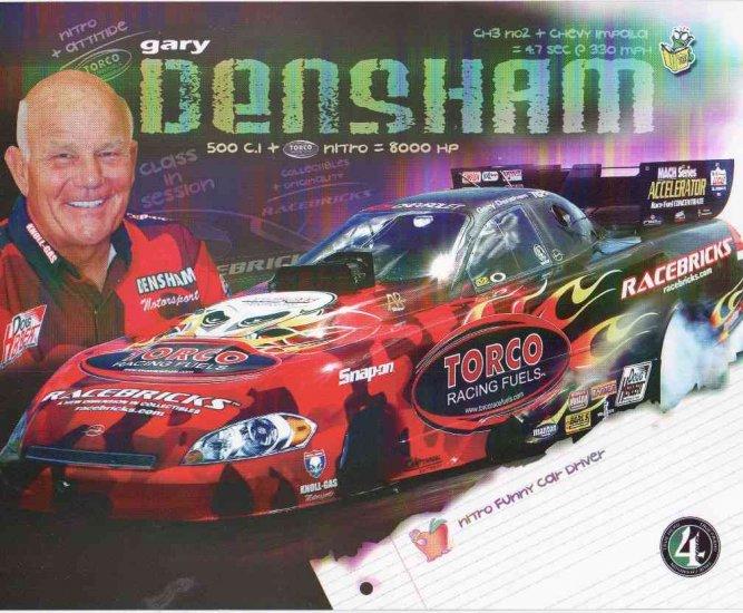 2007 NHRA FC Handout Gary Densham