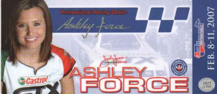 2007 NHRA FC Handout Ashley Force AAA