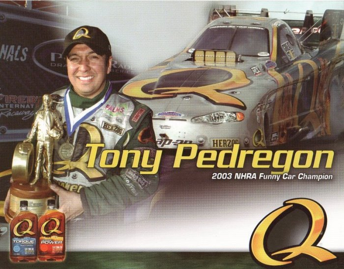 2007 NHRA FC handout Tony Pedregon (Q Racing)