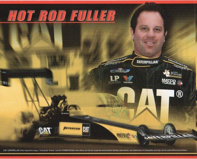 2007 NHRA TF Handout Hot Rod Fuller (Peterson Caterpillar)