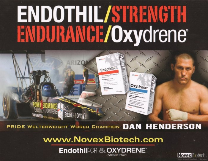 2007 NHRA TF Handout David Grubnic (Endothil)