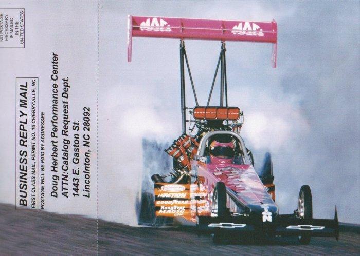 2007 NHRA TF Handout Shirley Muldowney