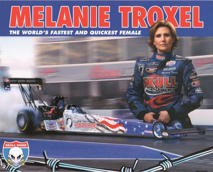 2007 NHRA TF Handout Melanie Troxel (Skull Shine version # 1) wm