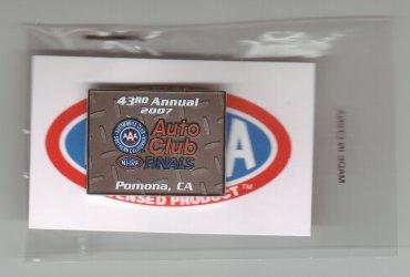 2007 NHRA Event Pin Pomona (Finals)