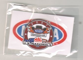 2007 NHRA Event Pin Indy Free Shipping Top Eliminator Club