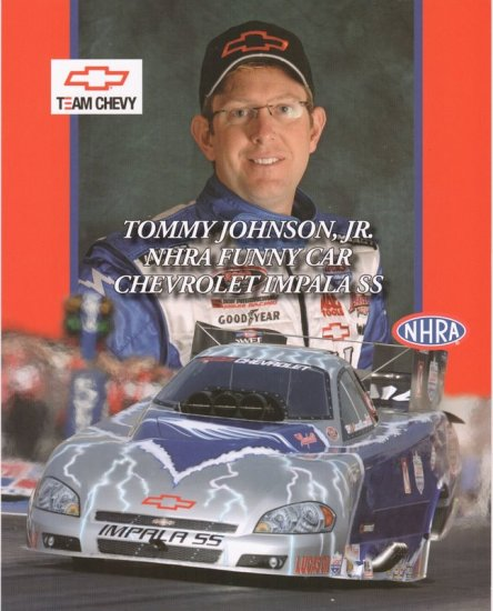 2007 NHRA FC Handout Tommy Johnson Jr. (Team Chevy)