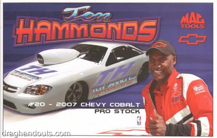 2008 NHRA PS Handout Tom Hammonds (version #2)