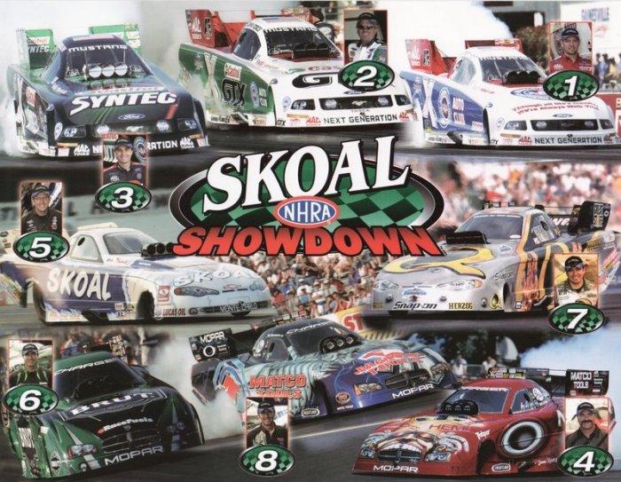 2006 NHRA FC Handout Skoal Showdown