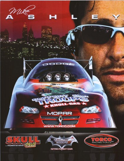 2006 NHRA FC Handout Mike Ashley (version #3)