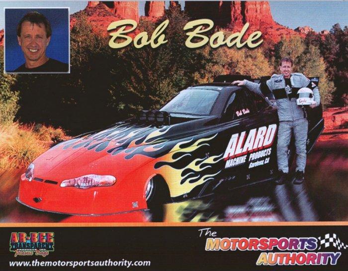 2006 NHRA FC Handout Bob Bode (version #2)