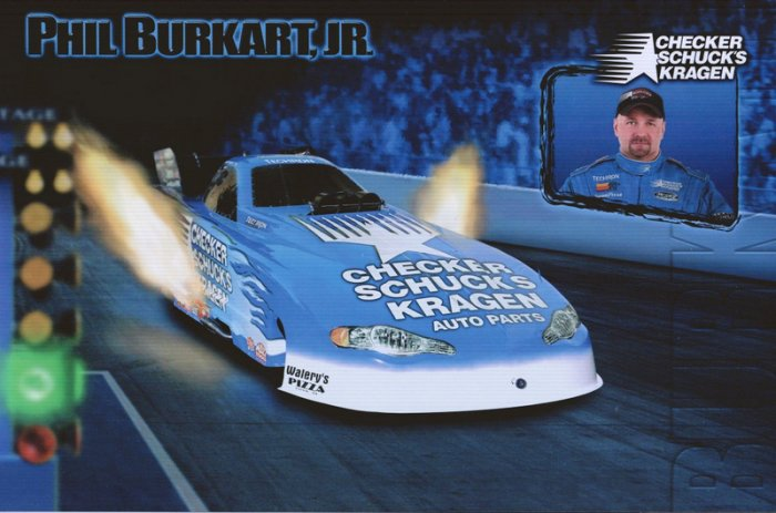 2006 NHRA FC Handout Phil Burkhart (version #1)