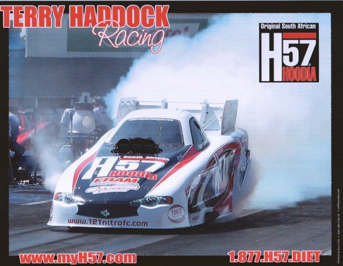 2006 NHRA FC Handout Terry Haddock (version #1)