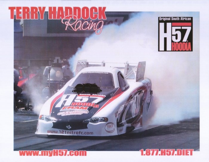 2006 NHRA FC Handout Terry Haddock (version #2)