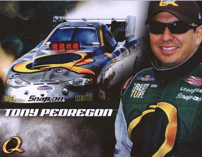 2006 NHRA FC Handout Tony Pedregon (version #1)