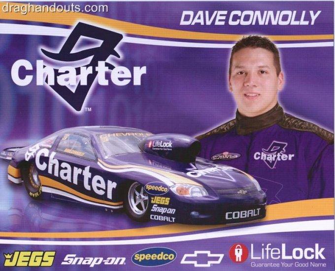 2008 NHRA PS Handout Dave Connolly (version #3) black coupon