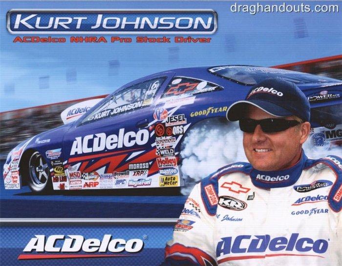 2008 NHRA PS Handout Kurt Johnson