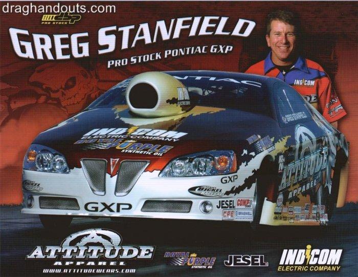2008 NHRA PS Handout Greg Stanfield