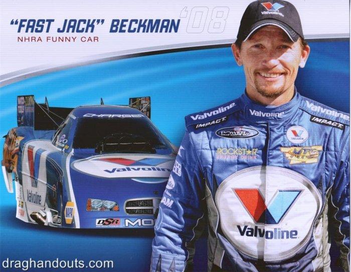2008 NHRA FC Handout Jack Beckman (version #1)