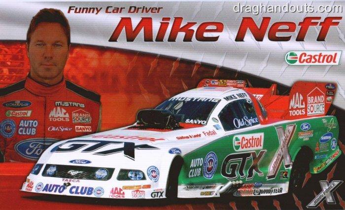 2008 NHRA FC Handout Mike Neff (version #1)