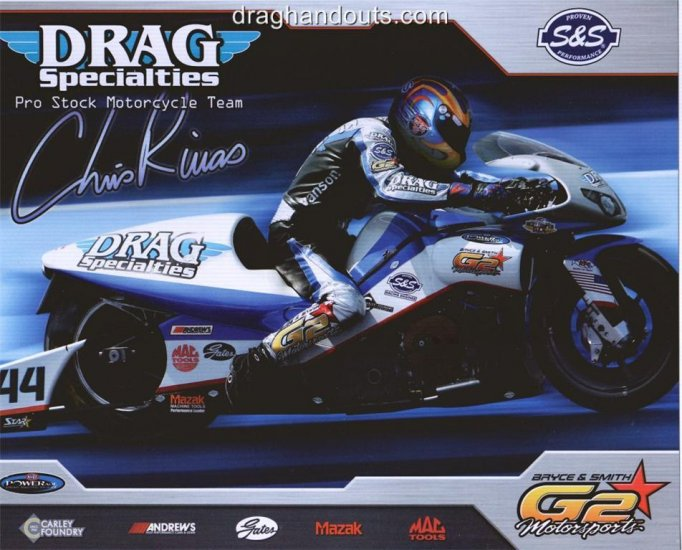 2008 NHRA PSB Handout Chris Rivas (version #1)