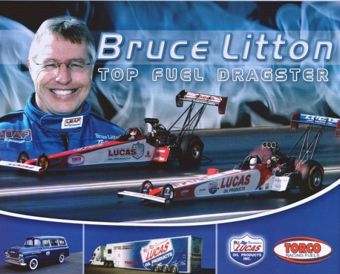 2006 NHRA TF Handout Bruce Litton