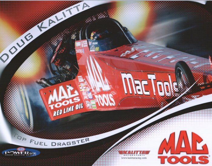 2006 NHRA TF Handout Doug Kalitta (version #2)