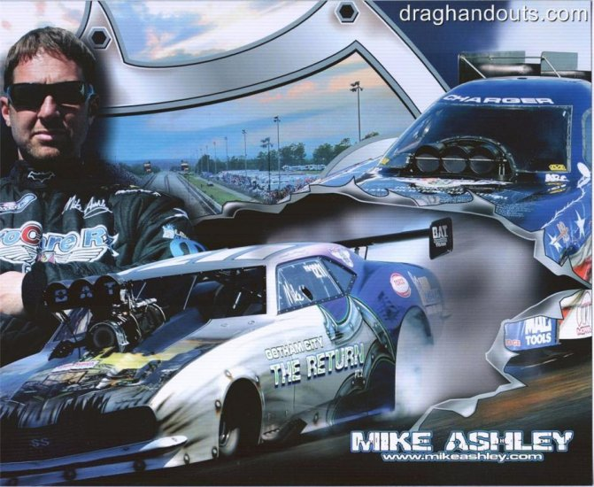 2008 NHRA PM Handout Mike Ashley