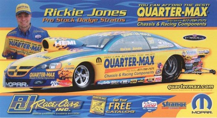 2008 NHRA PS Handout Rickie Jones (version #2)