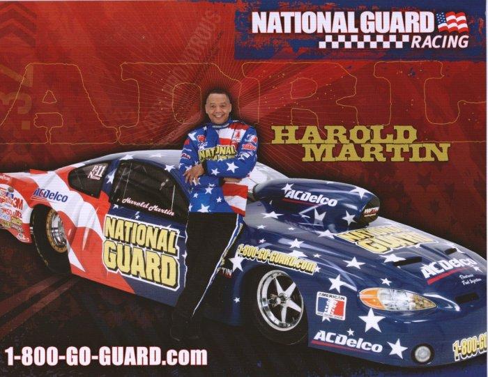 2008 NHRA PM Handout Harold Martin
