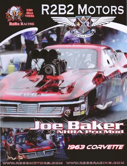 2008 NHRA PM Handout Joe Baker