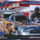 2008 NHRA FC Handout Jack Beckman Red Postcard (version #1)