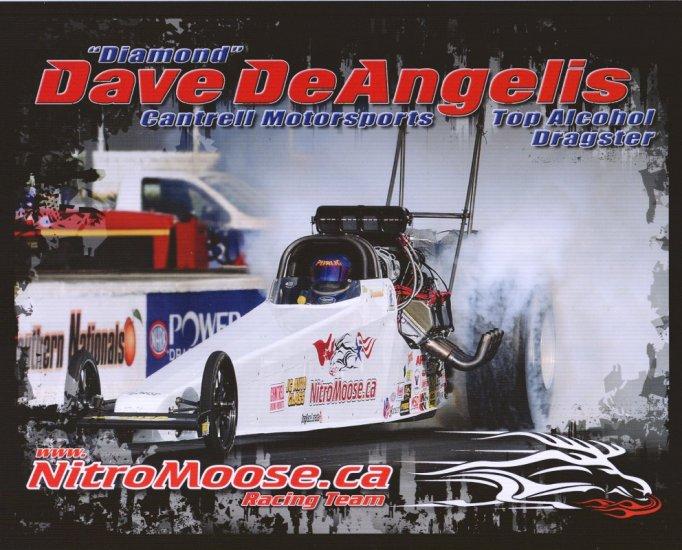 2008 NHRA TAD Handout Dave DeAngelis