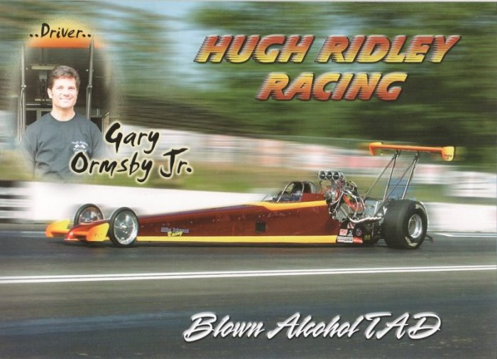 2008 NHRA TAD Handout Gary Ormsby Jr.