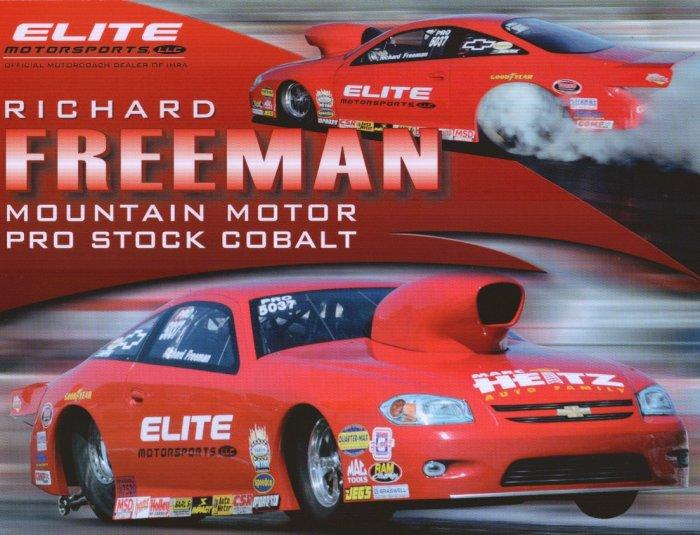 2008 NHRA PS Handout Richard Freeman