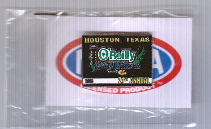 2008 NHRA Event Pin Houston