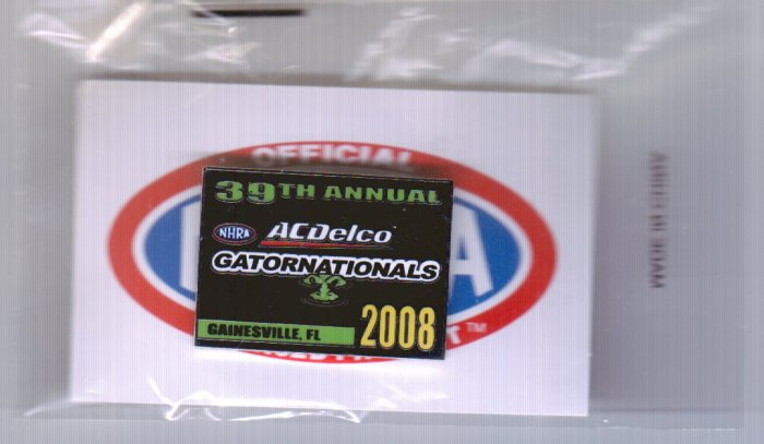 2008 NHRA Event Pin Gainesville