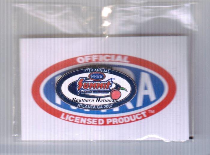 2007 NHRA Event Pin Atlanta
