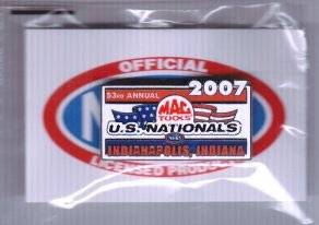 2007 NHRA Event Pin Indy